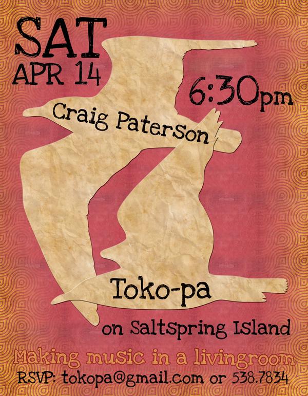 House Concert on Salt Spring Island