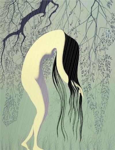 Artwork by Eyvind Earle (1916-2000)