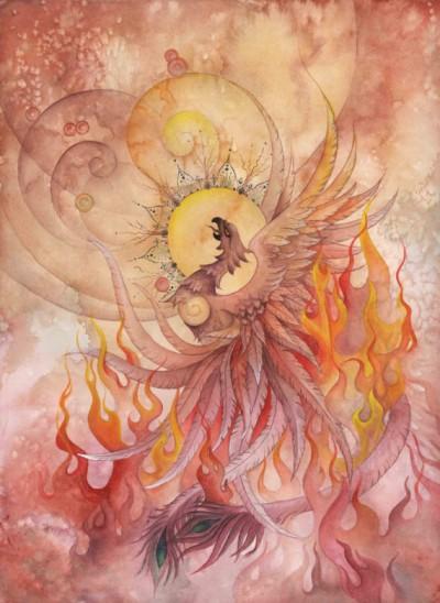 Phoenix Rising by Ellen Starr