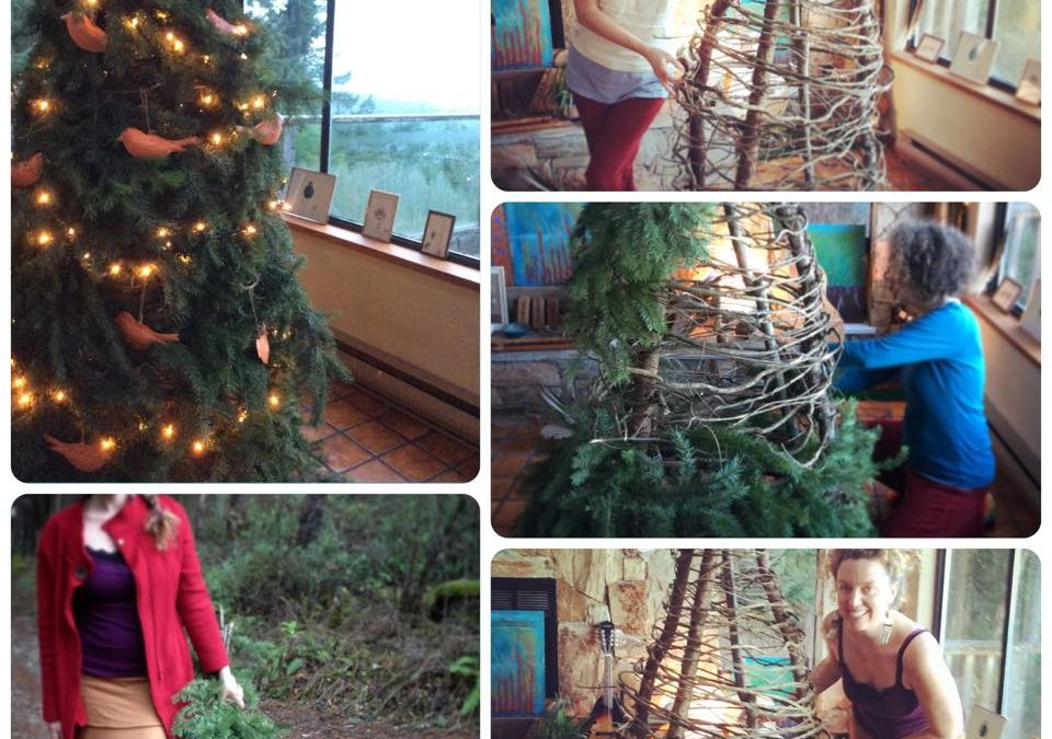 DIY Solstice Tree