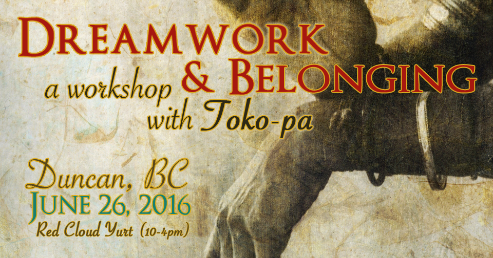 Workshop: Dreamwork & Belonging (Duncan, BC)